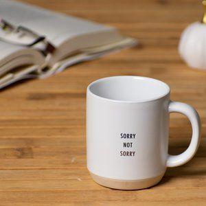 "Threshold Kitchen - Target Threshold Mug ""Sorry Not Sorry"""